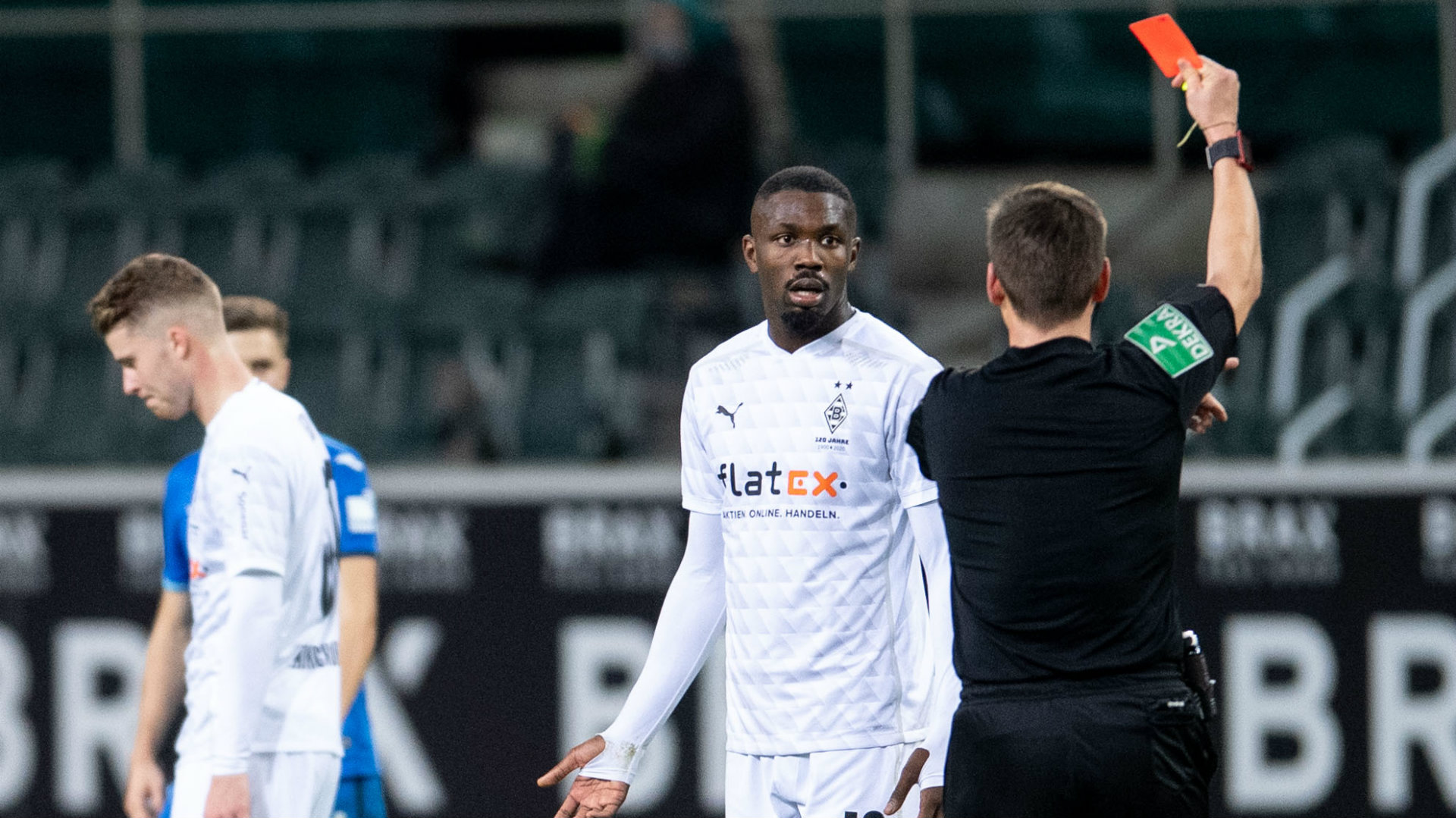 'He must have blown a fuse' - Rose apologises for Thuram spitting in face of an opponent in Gladbach's loss against Hoffenheim