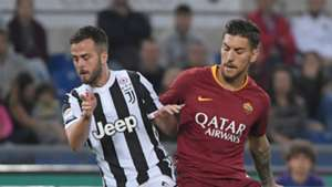 Miralem Pjanic, Lorenzo Pellegrini, Roma, Juventus, Serie A, 13052018