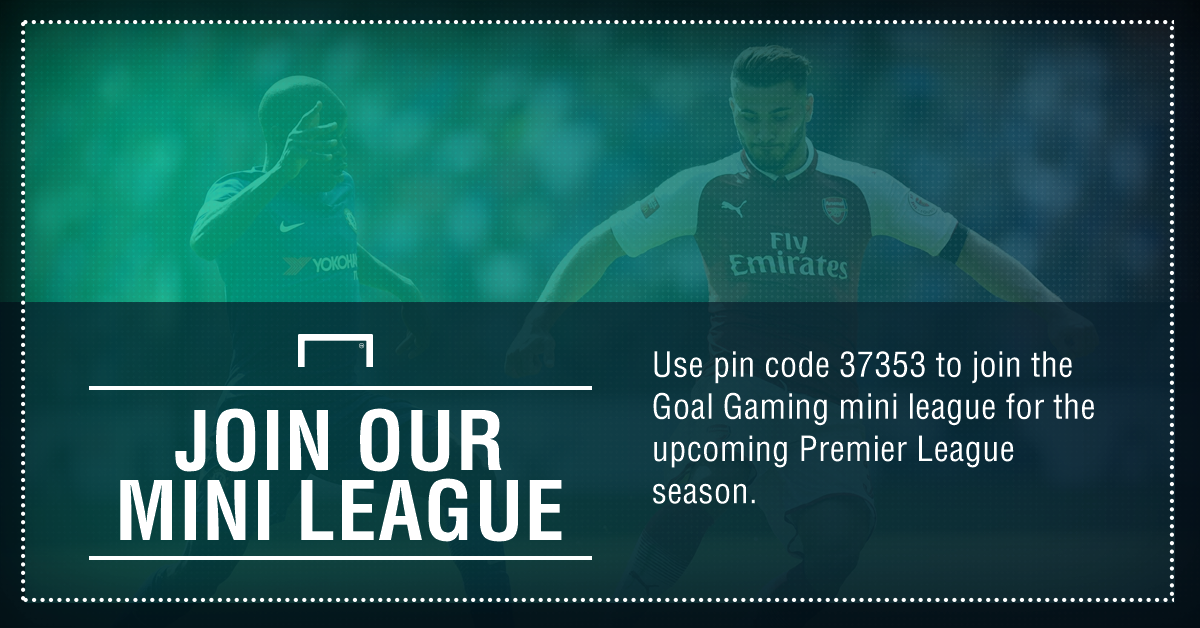 GFX FANTASY GOAL MINI LEAGUE