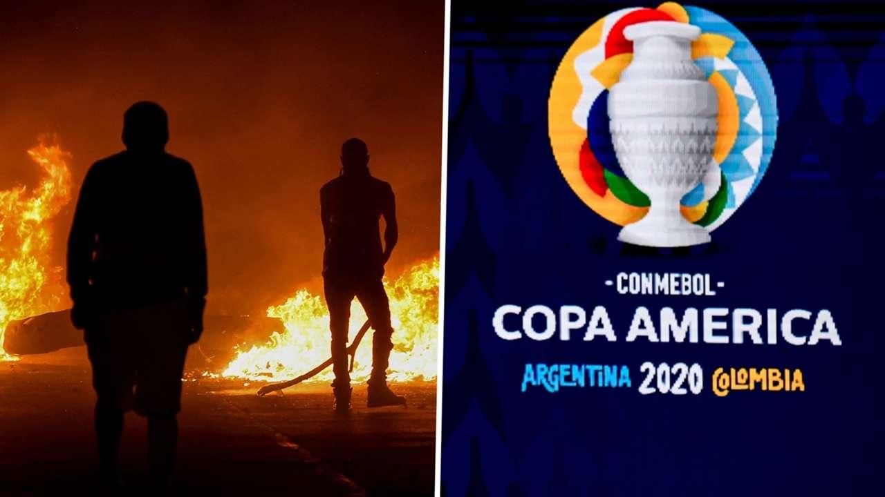 Copa America Colombia Argentina 2021