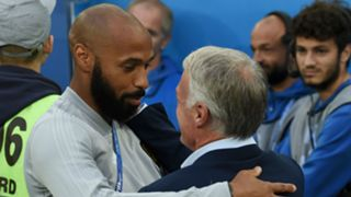 Thierry Henry Didier Deschamps