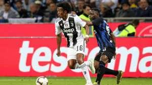 Kwadwo Asamoah and Cuadrado - Inter v Juventus 2018/19