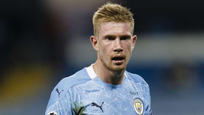 Kevin De Bruyne Man City 2020