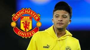 Jadon Sancho, Man Utd logo