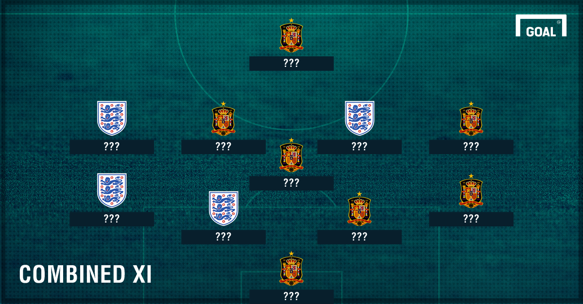 England vs Spain combined XI ???