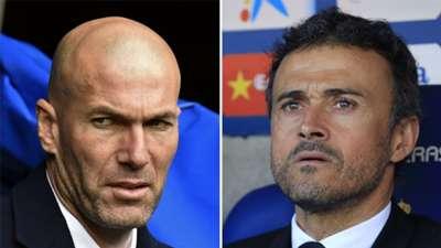 Zinedine Zidane Luis Enrique