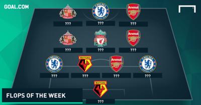 Premier League Worst Team of the Week 08112015