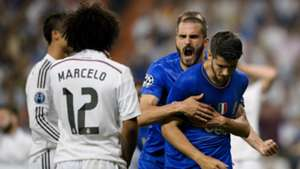 Alvaro Morata Vidal Real Madrid Juventus Champions League 13052015