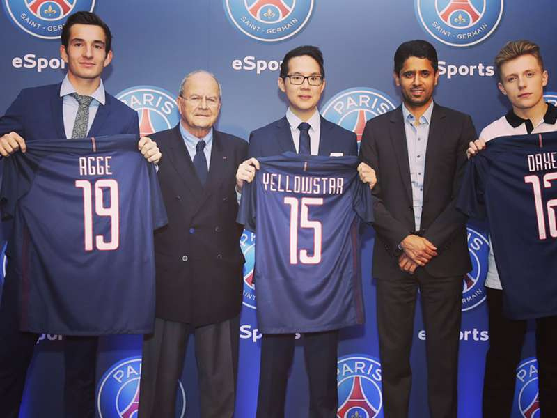 Psg Sign Fifa 17 Superstars In Dramatic Esports Entrance Goal Com