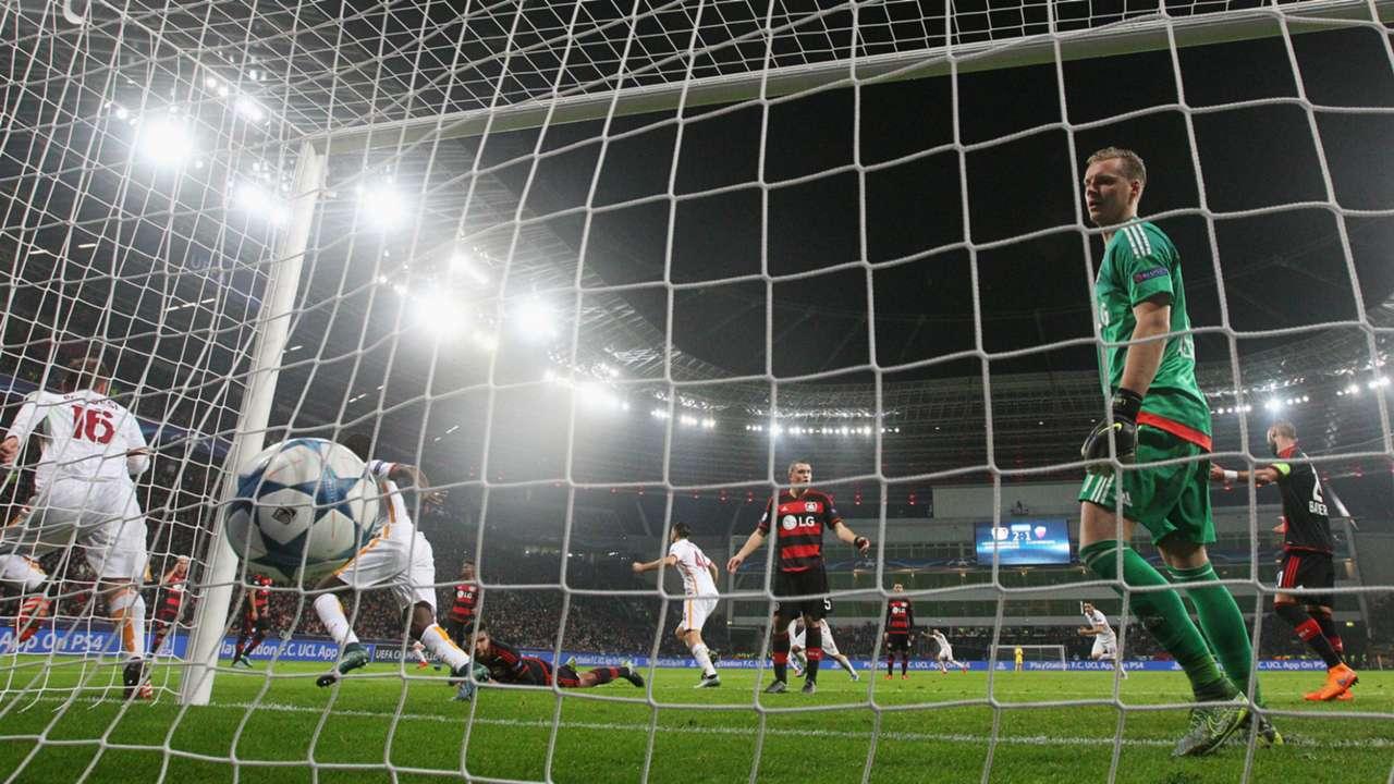 Bernd Leno Champions League Bayer Leverkusen v Roma