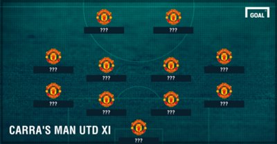 Carragher's Man Utd XI