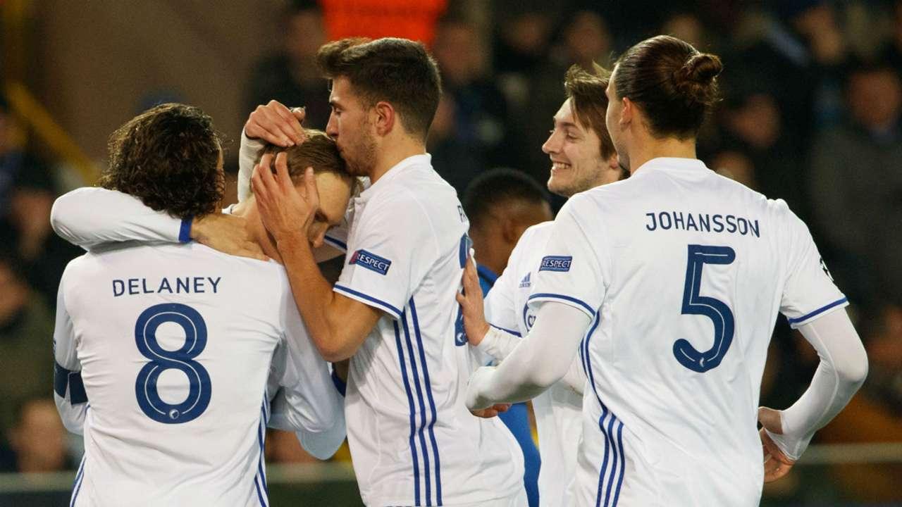 Copenhagen Club Brugge 07122016