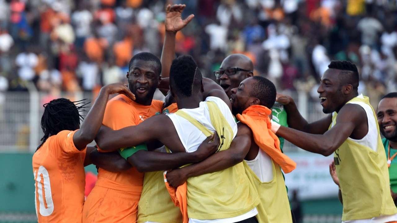 Cote d'Ivoire DR Congo Afcon picture gallery