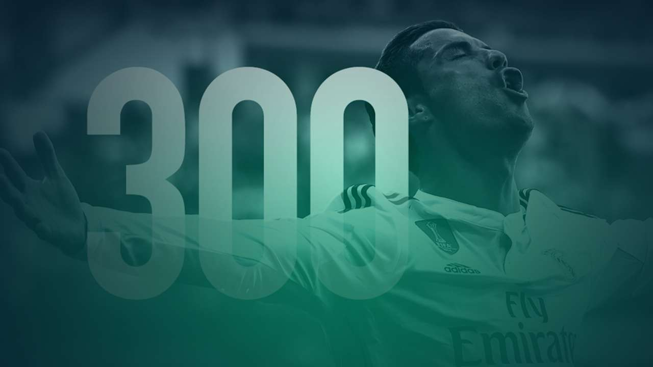 Cristiano Ronaldo 300 goals for Real Madrid