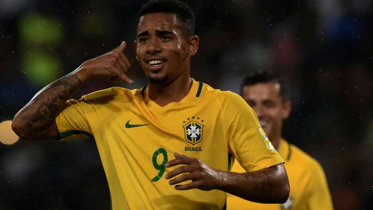 Gabriel Jesus Brazil Venezuela