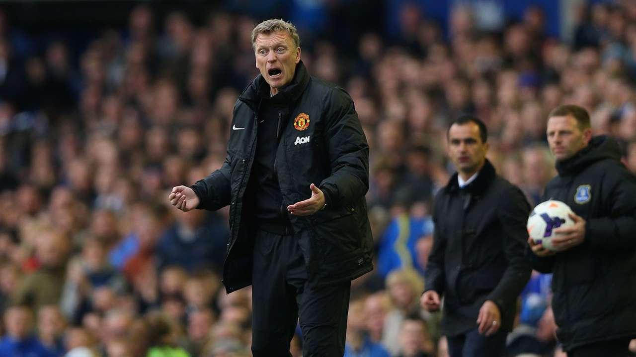 David Moyes Manchester United Everton