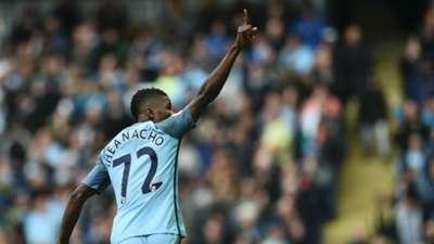 Kelechi Iheanacho Premier League Man City v Southampton 231016