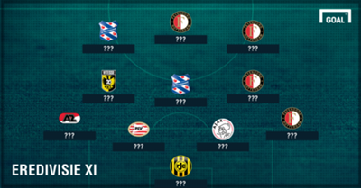 GFX Eredivisie team of the season so far 16-17