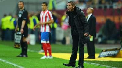 Diego Simeone Atletico Madrid 2012