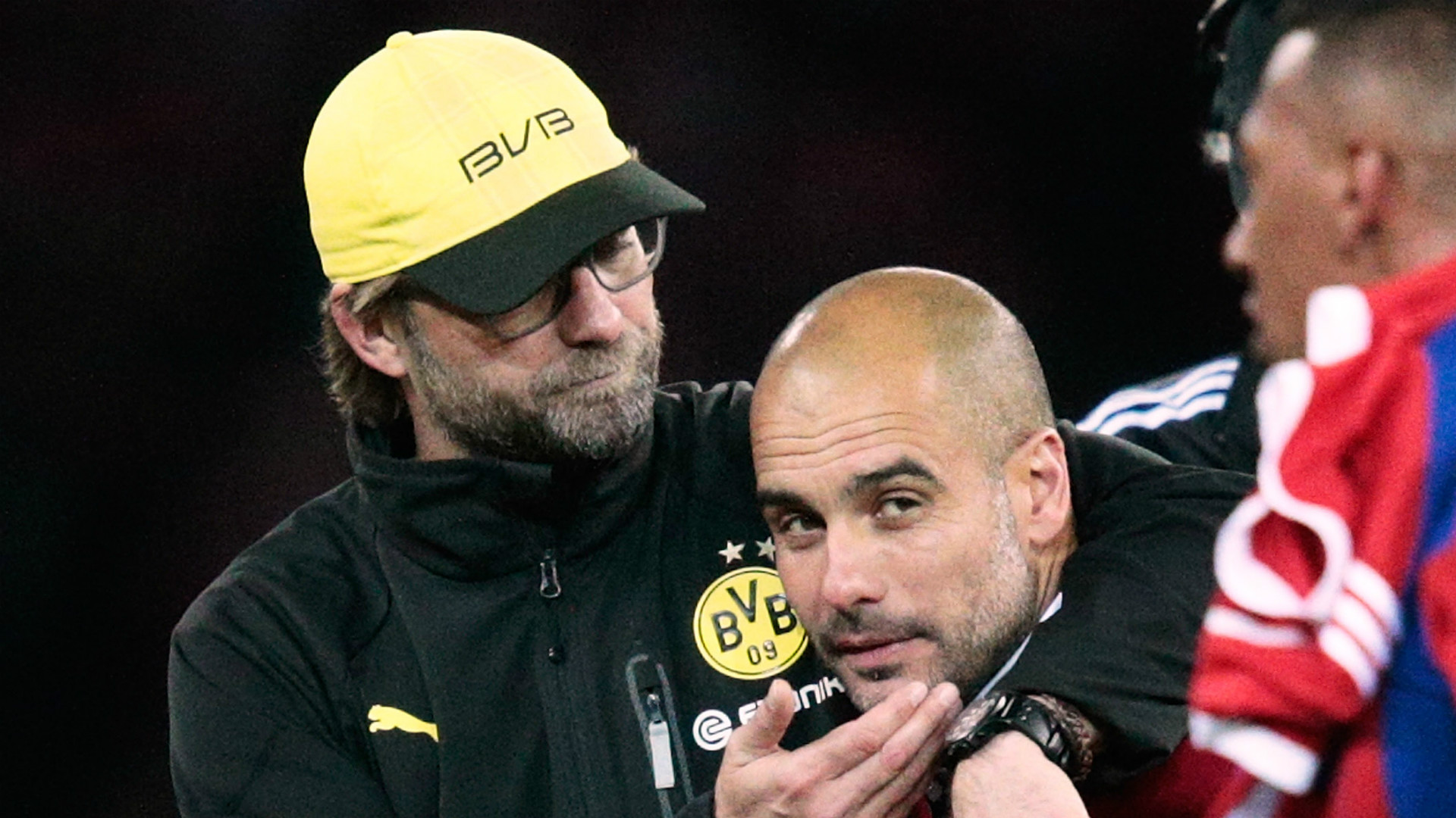 Jurgen Klopp Pep Guardiola Borussia Dortmund Bayern Munich
