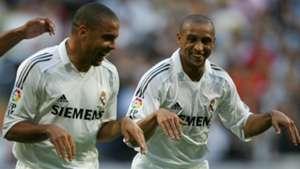 Ronaldo Roberto Carlos Real Madrid