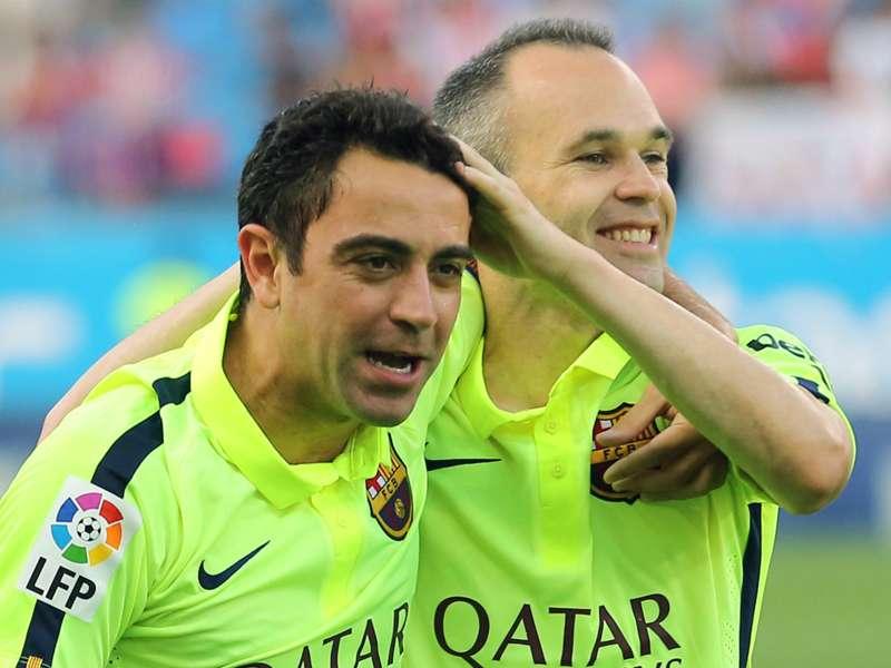 Xavi is beyond words - Iniesta