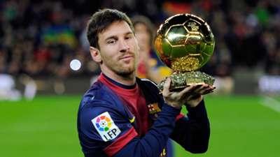 Lionel Messi Ballon d'Or 2013
