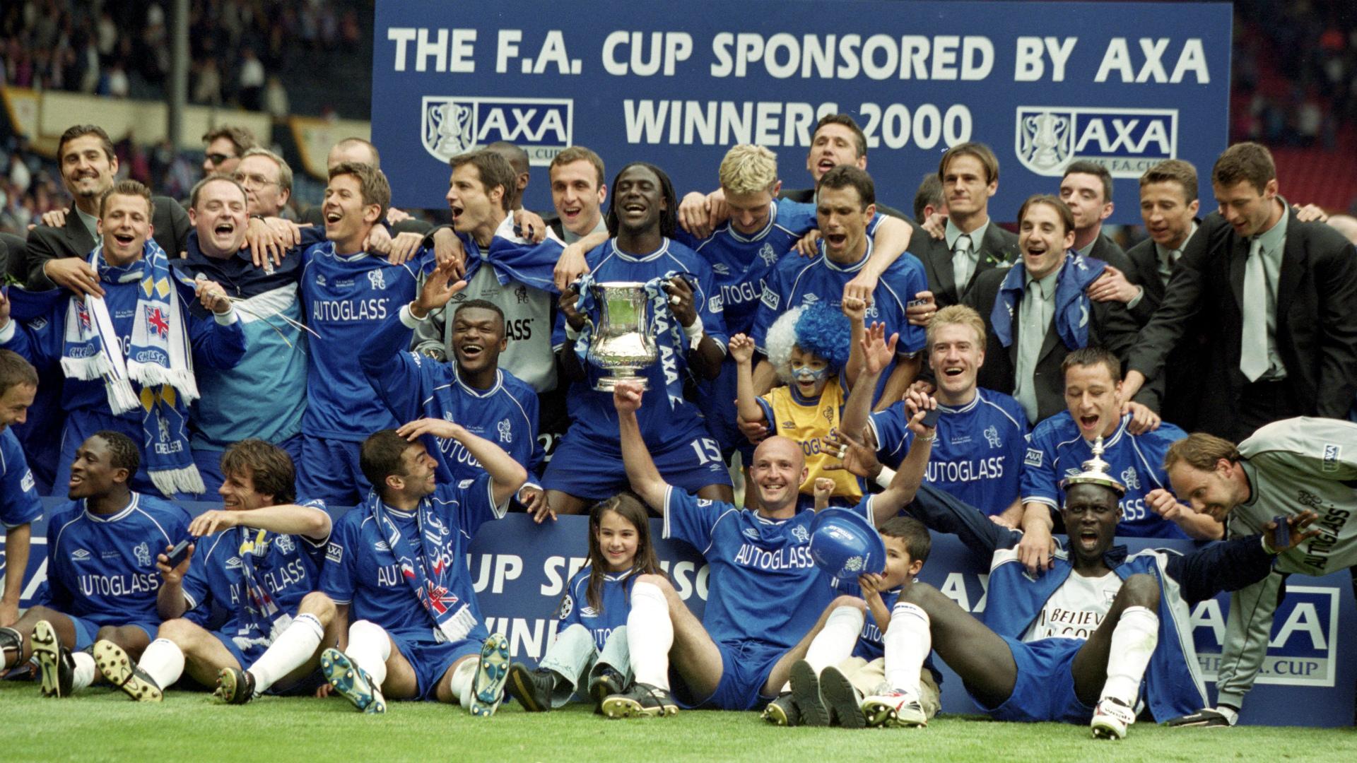 Chelsea 2000 FA Cup win