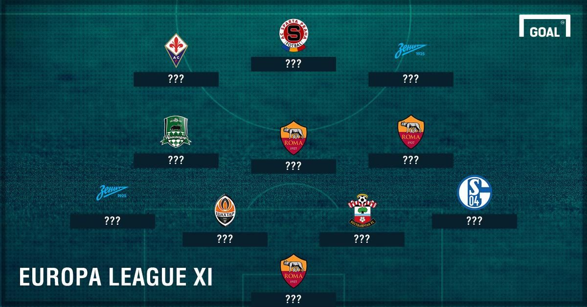 Europa League Team of the Week