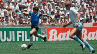Diego Maradona Argentina England 1986 World Cup