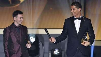 Lionel Messi & Cristiano Ronaldo