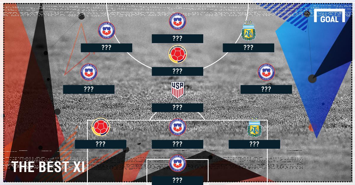 Copa America Best XI