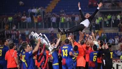 Pep Guardiola Barcelona 2009 Champions League final