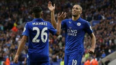 HD Riyad Mahrez Islam Slimani Leicester City