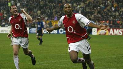 Thierry Henry Arsenal Inter