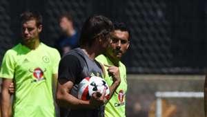 Conte with Pedro