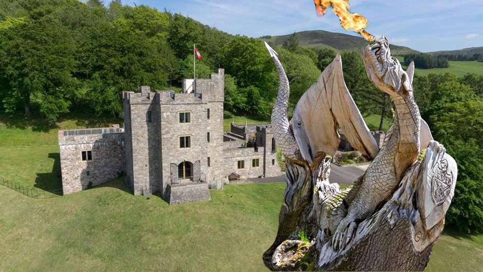 Mourinho Castle Wales