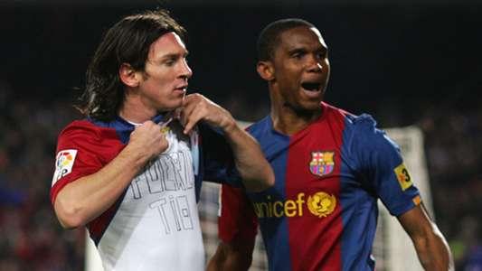 Eto'o: Một mình Messi không đủ 'gồng gánh' Barcelona