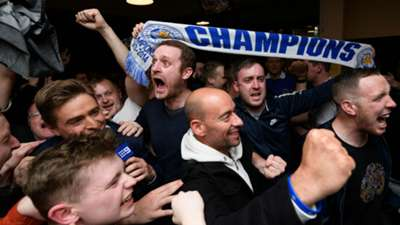 Leicester celebrates historic title