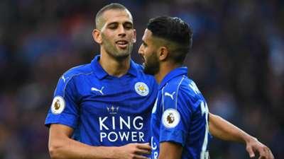 HD Islam Slimani Riyad Mahrez Leicester City