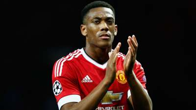 Anthony Martial Manchester United Champions League
