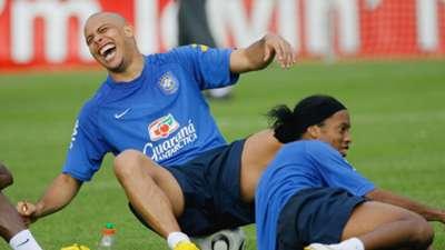 Ronaldo Ronaldinho Brazil 2006 World Cup