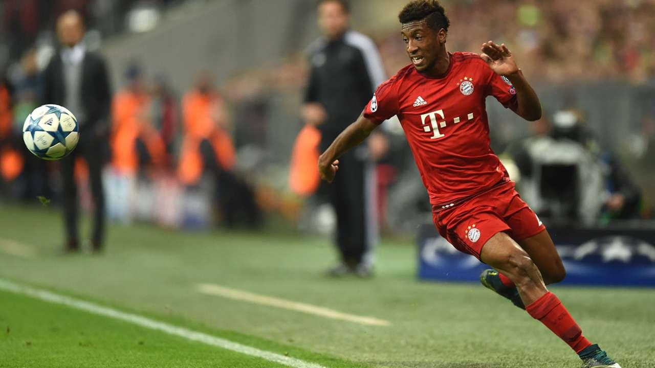 Kingsley Coman Bayern Munich Bundesliga