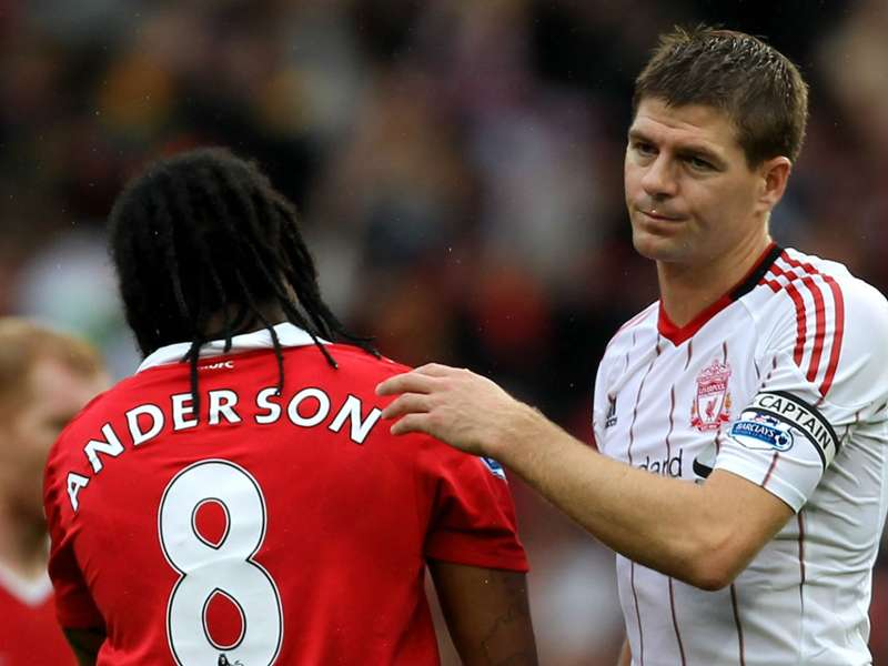 Ex Man Utd Midfielder Anderson Trolls Gerrard A Day Before He Announces His Retirement Goal Com