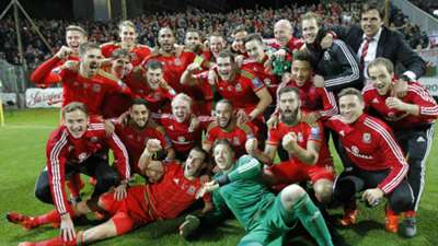 Wales squad Bosnia Wales 10102015