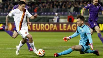 Juan Manuel Iturbe Roma Europa League