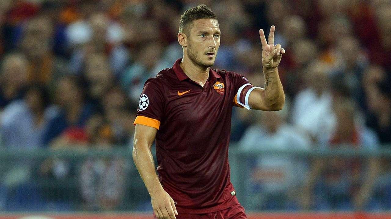 Francesco Totti Champions League