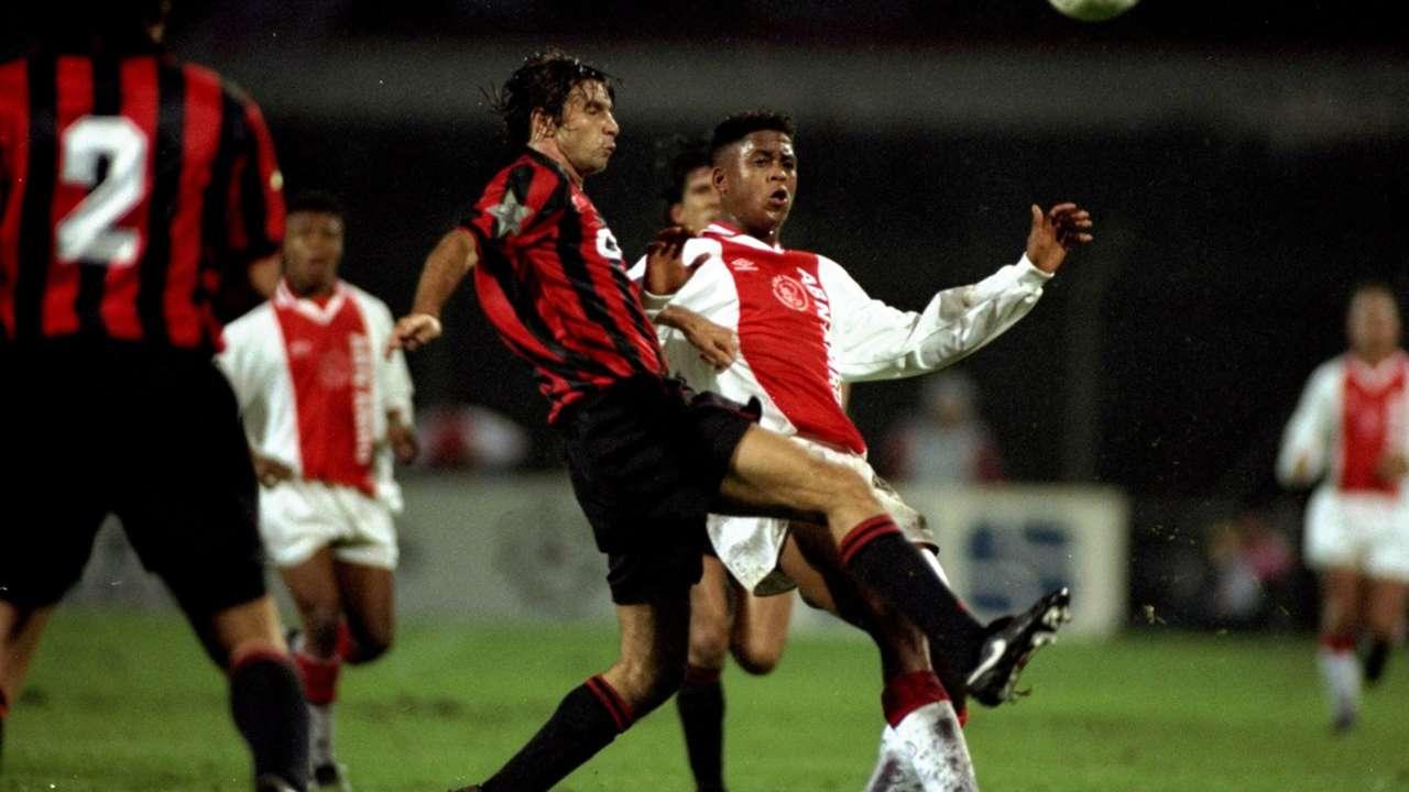 AC Milan Champions League exit 1995