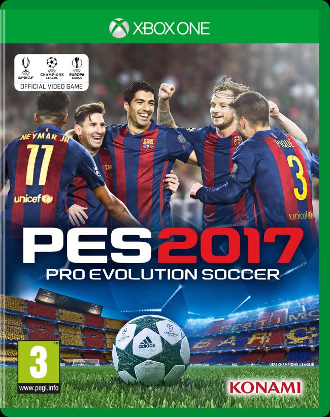 Messi, Neymar & Suarez star on PES 2017 cover | Goal com
