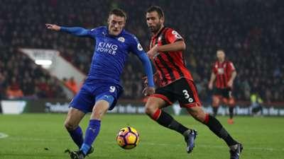Bournemouth Leicester Jamie Vardy